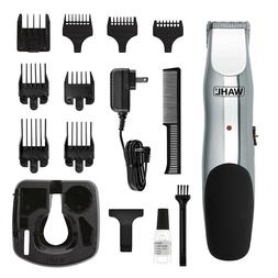 Wahl Cordless Beard Trimmer Hair Cutting Kit Body Shaver Gro