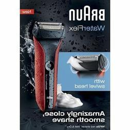 Braun WF2S WaterFlex Men's Electric Shaver Cordless Beard Tr