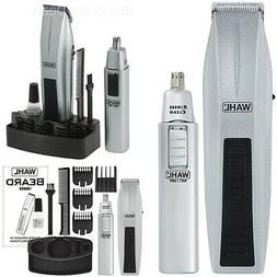 WAHL 5537-420 12-Pieces Mustache Beard Nose Battery-Operated