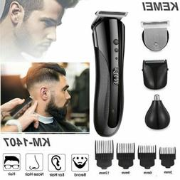Wireless Electric Rechargeable Hair Trimmer Clipper Beard Sh